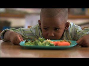 child won't eat vegetables